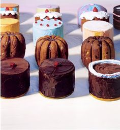 Wayne Thiebaud - art and cake-- not much better than that!