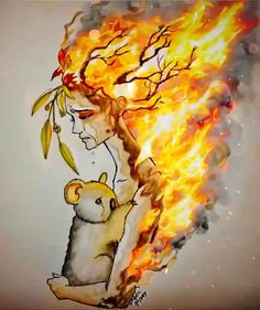 Science Discover The perfect AustraliasFires Koala Sad Animated GIF for your conversation. Fire Drawing Drawing Tips Graffiti Wallpaper Ad Of The World Most Beautiful Wallpaper Fire Art Painting Videos Wild Life Drawing People Earth Drawings, Pencil Art Drawings, Art Sketches, Fire Drawing, Drawing Drawing, Drawing Tips, Art Environnemental, Poster Drawing, Fire Art