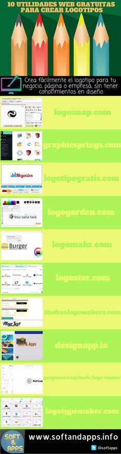Si necesitas crear logotipos para tus blogs, negocios o productos, no es ningún problema. Cualquiera de estas 10 herramientas web gratuitas te ayudará.