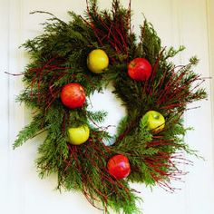 28 beautiful Christmas wreath ideas | Harvest season wreath | Sunset.com