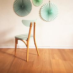 chaise bistrot vintage - Mid century chair - Chouette Fabrique