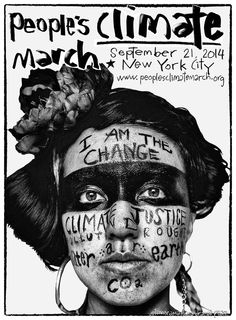 Activist art wants YOU to join the People's Climate March : TreeHugger