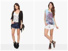 Shorts jeans   Looks de verão para todas as ocasiões Shorts Jeans, Ideias Fashion, Bubbles, Tops, Summer Looks, Tanks, Faces, T Shirts, Sewing
