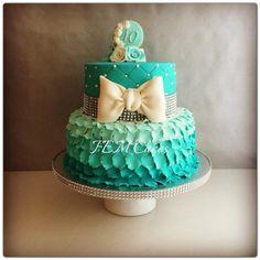 Birthday cake for her... - by femcakes @ CakesDecor.com - cake decorating…