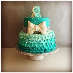 Birthday cake for her... - by femcakes @ CakesDecor.com - cake decorating website