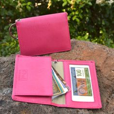 Ziptop Coin ID Holder - Perfect for students, frequent-fliers, mini-clutch girls, runners! Carry change, lip balm, eye drops, etc. #ecofriendly