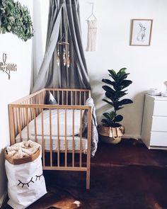 """258 curtidas, 7 comentários - Decoração Minimalista (@decoracaominimalista) no Instagram: """"Inspiração para quarto de bebê. ❤️ @pinterest"""""""