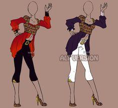 Fashion Adoptable Auction 46 - OPEN by Karijn-s-Basement.deviantart.com on @DeviantArt