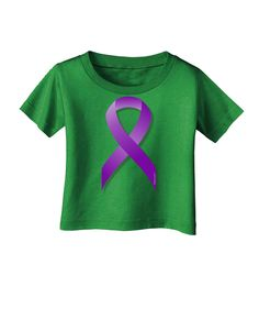 Raise awareness for Epilepsy with this Purple Awareness Ribbon. These fun printed garments are a great personal touch on you, or as a gift to a friend or loved one! Great for all-year-round too! Color
