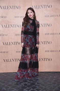 Suzy Bae - Valentino Mirabilia Romae Haute Couture Fall 2015 Front Row - July 9, 2015