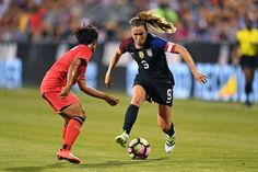 Heather O'Reilly, the HAO game face vs. Thailand, Sept. 15, 2016,  (Jamie Sabau/Getty Images)