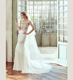 Wedding Dress Nicole 17134. Find this dress at Janene's Bridal Boutique located in Alameda, Ca. Contact us at (510)217-8076 or email us info@janenesbridal.com for more information.
