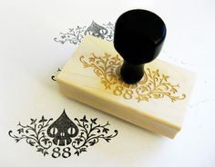 personal brand rubber stamp by Ryan Crippen