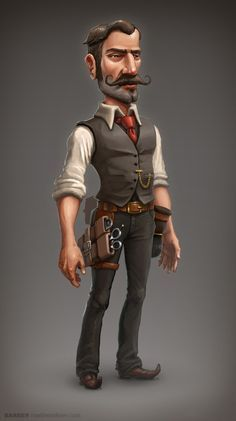 Barber Concept by mavhn on deviantART ★ Find more at http://www.pinterest.com/competing/