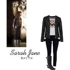 """""""Sarah Jane Smith Inspired"""" by teganmhall on Polyvore"""