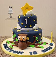 twinkle owl cake - Google Search