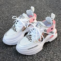 Women's Casual Shoes Fashion Shoes For Women Brand Outdoor Breathable Woman Trend Shoes Loafers New Zapatillas Mujer 2019 Sneakers For Women | Touchy Style Loafer Sneakers, New Sneakers, Girls Sneakers, Platform Sneakers, Girls Shoes, Womens Fashion Sneakers, Fashion Shoes, Fashion Women, Women Brands