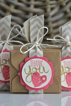 Kreativ mit Liebe!: ...und nochmal Goodies mit dem Envelope Punchboard und Mini Anleitung