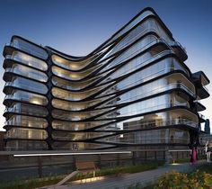 520 West 28th Street by Zaha Hadid Architects in New York,USA.(2016) Photography:Hayes Davidson •#Arc_Only