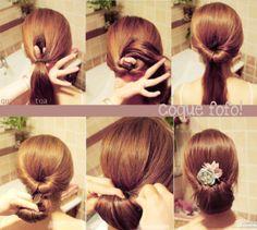 penteados fáceis de fazer sozinha