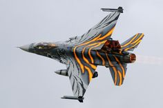 F-16 Tiger Camo