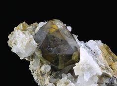 Sphalerite. Konnerud, Drammen, Norway. Taille=1 cm Photo Øivind Thoresen