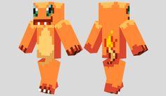 Charmander Skin para Minecraft