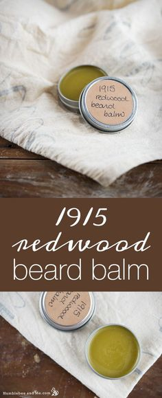 This softly fragrant, intoxicating 1915 Redwood Beard Balm was inspired by a series of photos of lumberjacks in California's Redwood forests at the turn of the last century. Tiny men dwarfed by awe inspiring trees, working in teams with long, … Continue reading →