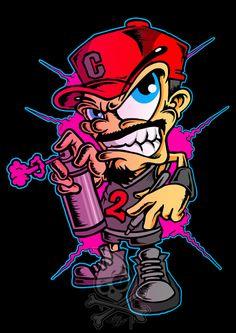 Graffiti Wallpaper, Graffiti Artwork, Graffiti Drawing, Graffiti Lettering, T-shirt Design Graphique, Espada Anime, Anime Wolf Drawing, Graffiti Characters, Cycling Art