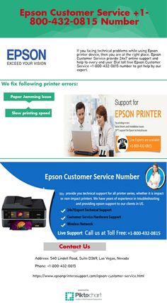 Epson Customer Service +1-800-432-0815 Number. https://www.epsonprinterssupport.com/epson-customer-service.html