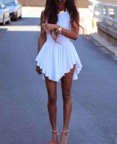 Hot Womens Sexy Slim Fit Cocktail Bodycon Bandage Dress Clubwear Evening Dress #Unbranded #StretchBodycon #Clubwear