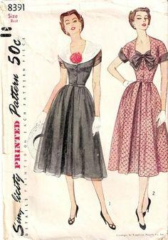 Simplicity 8391 (1951)