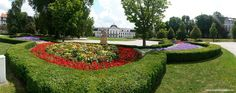 Known as Slovakia's White House, Grassalkovich palace is the official seat of the president of Slovakia. Its large French garden which is one of the most po Bratislava, Stepping Stones, Palace, Garden, Outdoor Decor, House, Stair Risers, Garten, Home
