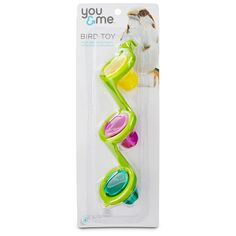 You & Me Seed Cup Ladder Bird Toy! Toys are critical to your bird's physical and mental well-being.