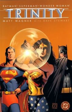 Batman, Superman & Wonder Woman Trinity III. Worth it for the jerky peeping tom Batman in the first couple of pages.