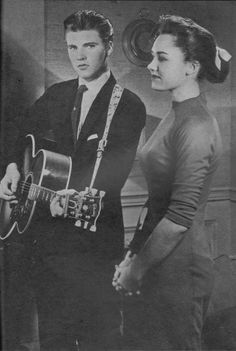 Ricky Nelson and Lorrie Collins