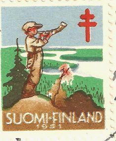 Kirjeitä myllyltäni: Joulumerkkejä ja vähän muitakin Monet, Postage Stamps, Martini, Finland, Childrens Books, Rooster, Nostalgia, Airplane Mode, Postcards