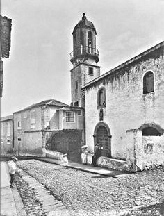 Santo Domingo, y la vieja capilla de los Montenegro. Tenerife, Montenegro, Notre Dame, Building, Travel, Santa Cruz, Santo Domingo, Antique Photos, Past