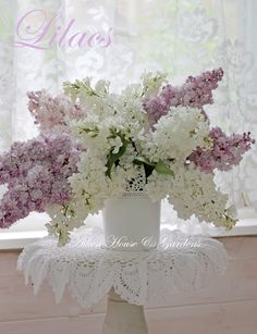 Beautiful Lilacs from Aiken House & Gardens: Utterly Feminine