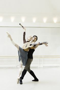 Sarah Lamb and Federico Bonelli in rehearsals for Don Quixote © ROH / Johan Persson 2013 by Royal Opera House Covent Garden, via Flickr