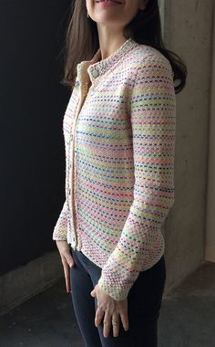 Ravelry: Kantha Cardigan pattern by Jennifer Beaumont