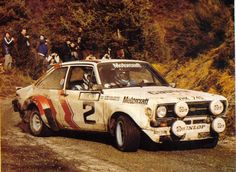 Bjorn Waldegaard - Hans Thorszelius 47th Rally Automobile de Montecarlo 1979 (Ford Escort RS MkII)