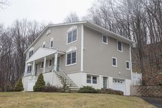 Tri-level attached house with loads of space and a great location on a private dead end. Forget paying condo fees & living in a crowd. This home is quiet and backs to the woods. Yet close to Route 46.