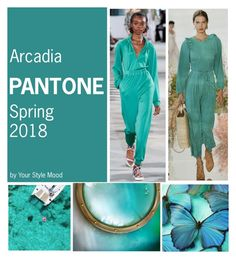 """Arcadia Spring 2018"" by yourstylemood on Polyvore featuring мода, TIBI, springtrends, pantone, springcolours и spring2018"