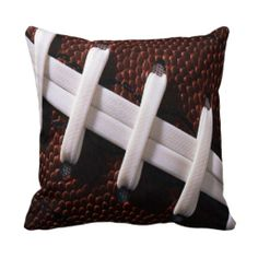 Football Pillows this is the cutest thing ever