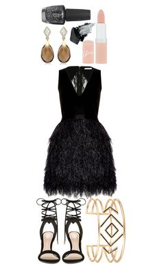 """Untitled #40"" by ricardo-tipo11 on Polyvore featuring Alice + Olivia, ALDO, Stella & Dot, OPI, Rimmel and Gorgeous Cosmetics"
