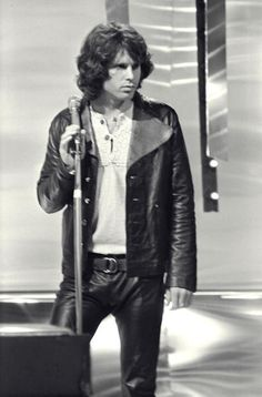 The Doors 1968 Jim Morrison in London United Kingdom