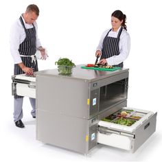 Adande Matchbox Solid Worktop. Is it a food prep area? Is it a fridge? Is it a freezer? It's all of the above. It can even be a blast chiller! Top quality equipment for fantastic prices from FFD!