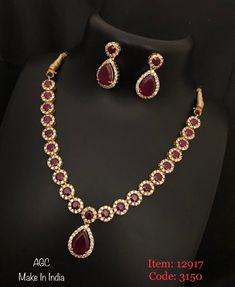 Temple jewellery available at AnkhJewels for booking msg on Ruby Jewelry, Stone Jewelry, Gold Jewelry, Jewellery Earrings, Diamond Jewellery, Jewelery, Stylish Jewelry, Fashion Jewelry, Luxury Jewelry
