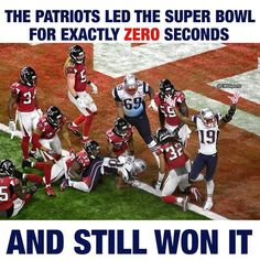 Against all odds, the New England Patriots found a way to win.